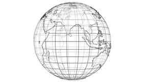 Концепция земли плана видео иллюстрации 3d иллюстрация вектора