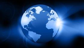 Концепция земли цифров Стоковое Изображение RF