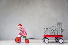 Концепция зимнего отдыха Xmas рождества Стоковые Фото