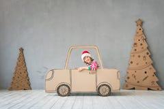 Концепция зимнего отдыха Xmas рождества Стоковые Изображения RF