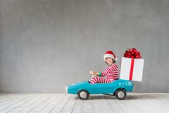 Концепция зимнего отдыха Xmas рождества Стоковое фото RF