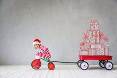 Концепция зимнего отдыха Xmas рождества Стоковое Фото
