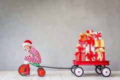 Концепция зимнего отдыха Xmas рождества стоковое изображение rf