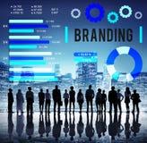 Концепция знамени рекламы авторского права бренда клеймя стоковые фото