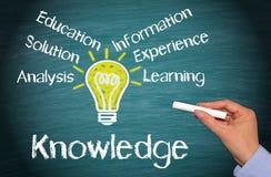 Концепция знания и образования стоковая фотография