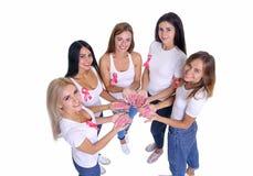 Концепция здоровья и предохранение рака молочной железы Стоковое Изображение