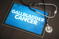 Концепция диагноза рака желчного пузыря (типа рака) медицинская на животиках Стоковые Изображения