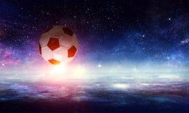 Концепция игры футбола стоковая фотография rf