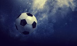 Концепция игры футбола стоковые изображения rf