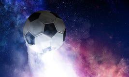 Концепция игры футбола стоковые фото