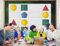 Концепция игр отдыха решения проблем головоломки Sudoku Стоковое Фото
