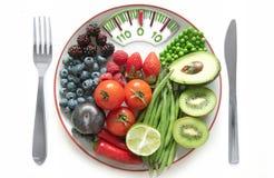 Концепция диеты масштабов ванной комнаты стоковое изображение rf