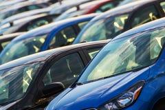 Концепция индустрии автомобиля стоковые изображения
