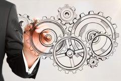 Концепция инженерства и развития стоковая фотография