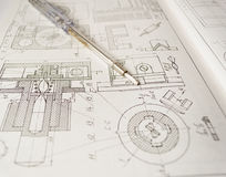 Концепция инженерства Стоковая Фотография RF