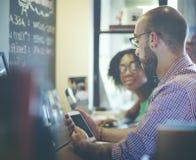 Концепция интернета связи корпоративного планирования команды Стоковое Фото