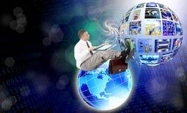 Концепция интернета стоковое изображение
