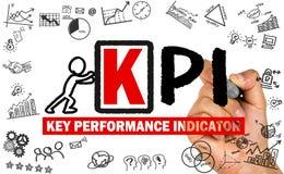 Концепция индикатора ключевой производительности Стоковые Изображения RF