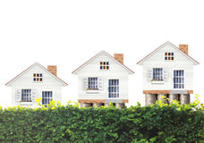 Концепция ипотеки домом денег стоковые фотографии rf