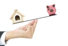 Концепция ипотечного кредита Стоковые Изображения RF