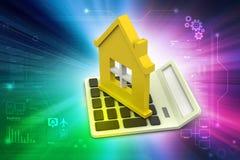 Концепция ипотечного кредита Стоковое Изображение RF