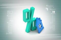 Концепция ипотечного кредита Стоковое Изображение