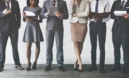 Концепция исследования занятия руководства бизнесом Стоковая Фотография