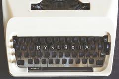 Концепция дислексии Стоковая Фотография RF