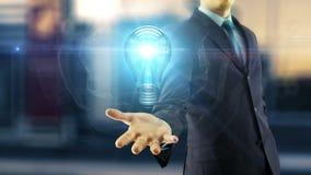 Концепция идеи бизнесмена бесплатная иллюстрация