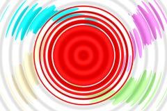 Концепция и творческие способности в создавать красивую предпосылку Стоковое Изображение RF