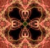 Концепция иллюстрации абстрактного искусства Стоковые Фотографии RF