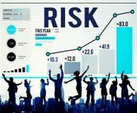 Концепция капиталовложений предприятий управление при допущениеи риска зыбкая стоковое фото