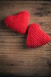 Концепция карточки дня валентинок Стоковая Фотография RF