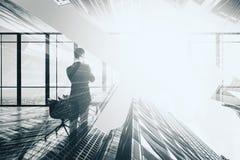 Концепция карьеры и успеха стоковая фотография rf