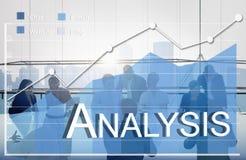 Концепция коммерческой статистики аналитика анализа Стоковые Изображения RF