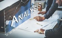 Концепция коммерческой статистики аналитика анализа Стоковое Фото
