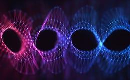 Концепция конспекта генетического кода Стоковые Изображения