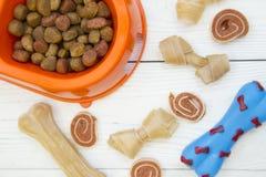 Концепция корма для домашних животных Стоковые Изображения