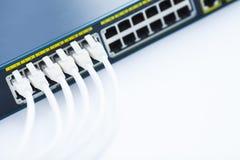 Концепция корпоративной сети Стоковое Изображение RF