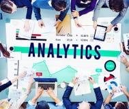 Концепция маркетинга дела анализа аналитика стоковые изображения rf