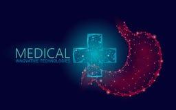 Концепция медицинского перекрестного доктора живота символа онлайн Приложение медицинской консультации Сеть аптеки диагноза здрав бесплатная иллюстрация