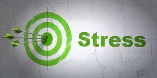 Концепция медицины: цель и стресс на предпосылке стены