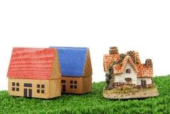 Концепция миниатюрных домов Стоковая Фотография RF