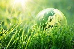 Концепция мира экологическая - Европа Стоковое Изображение RF