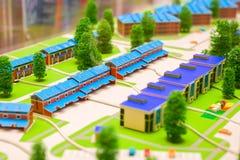 Концепция модели домов Стоковые Фотографии RF