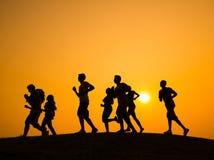 Концепция мотивировки воодушевленности приятельства спешкы Стоковое Фото