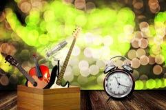 Концепция музыки игры, счастливый Новый Год Стоковая Фотография RF