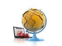 Концепция налога Стоковое Изображение RF