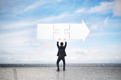 Концепция направления и решения бесплатная иллюстрация