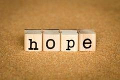 Концепция надежды Стоковые Фотографии RF